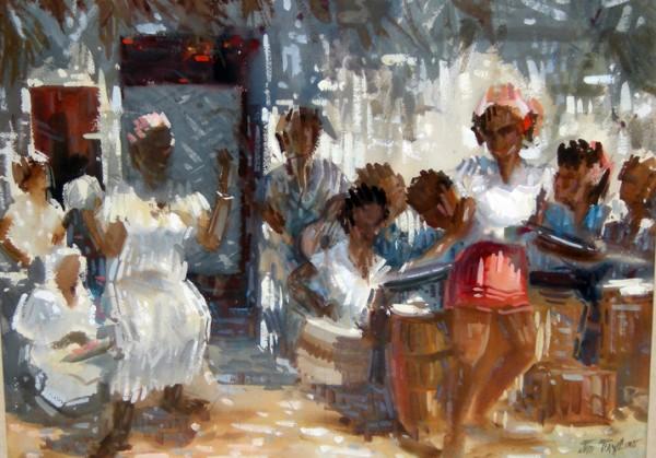 Jo Taylor, Calypso Dancers.