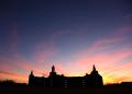 Baylor Science Building at Sunset