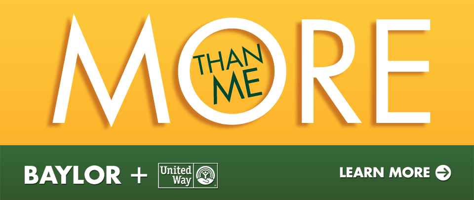 United Way: More Than Me campaign to support the community