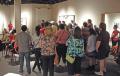 Gallery talk by Sedrick Huckaby