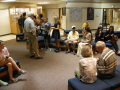 Reception for Sedrick Huckaby