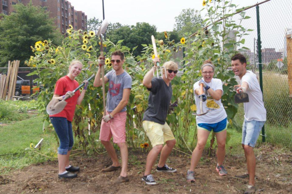 Intern Garden Team