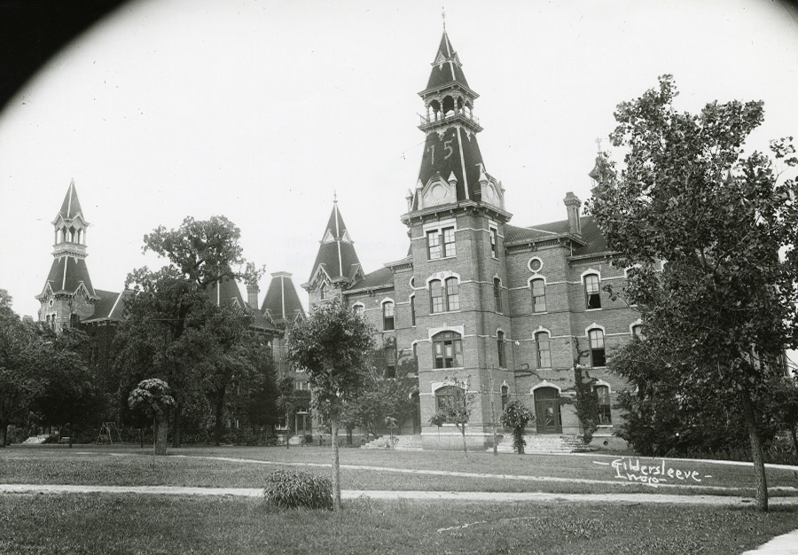 Old Main - 1915 - Then