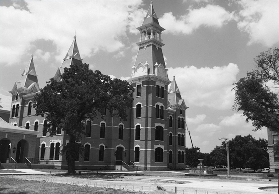 Old Main - 1974 - Then
