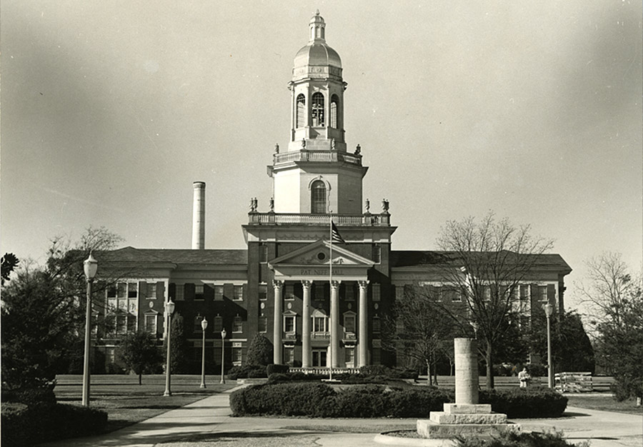 Pat Neff Hall - late 1940's - Then