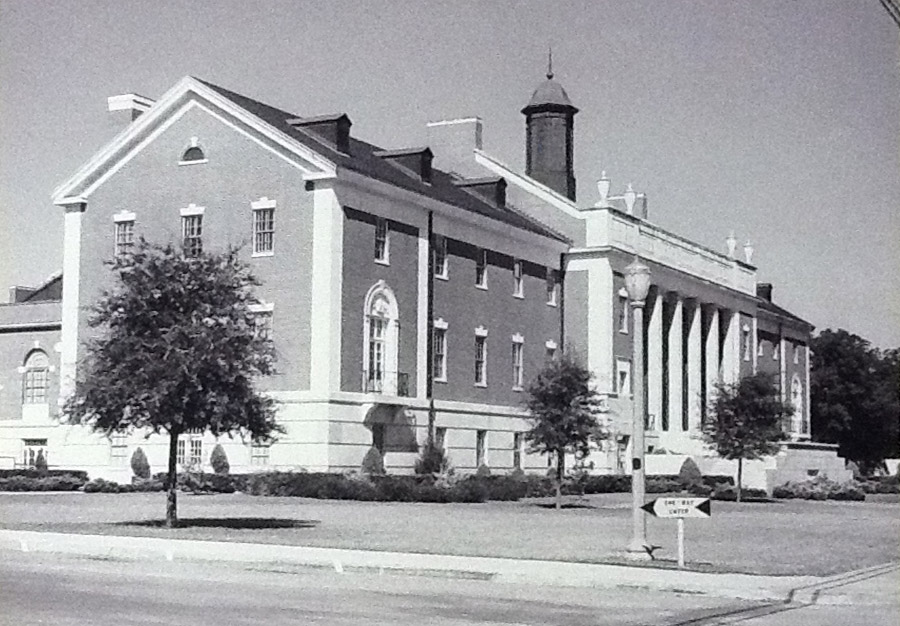 Student Union Building - early 1950s - Then
