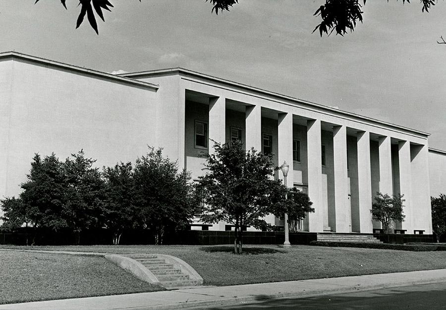 Hankamer School of Business - 1961 - Then