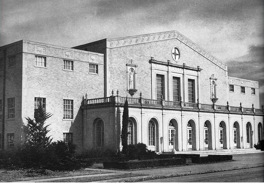 Marrs McLean Gymnasium - 1938 - Then