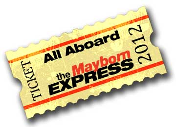 All Aboard the Mayborn Express