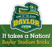 It takes a Nation! Get your Baylor Stadium brick today!