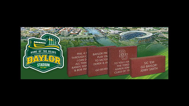 Baylor Stadium Bricks Campaign
