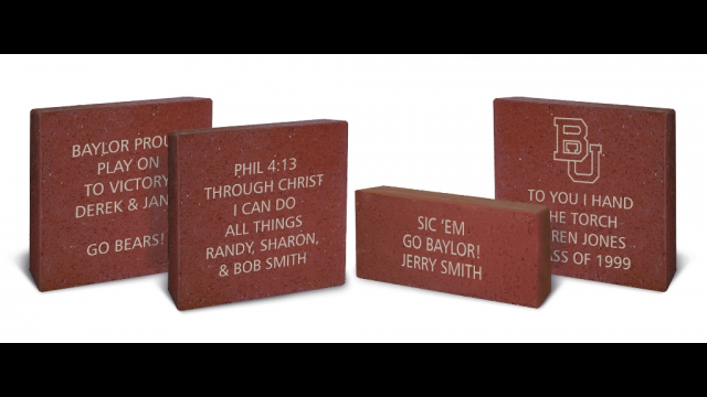 Baylor Stadium Bricks