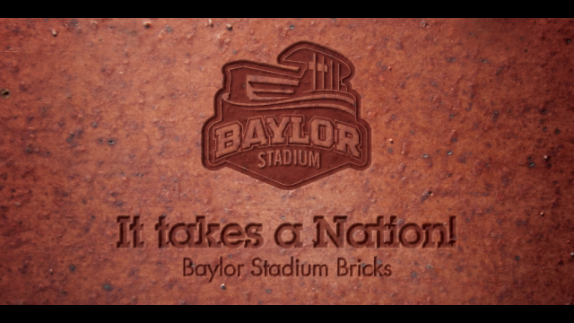 Baylor Nation Brick