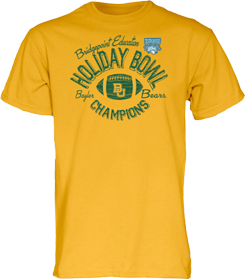 Get your Baylor Bears Holiday Bowl Champions apparel at the Baylor Bookstore