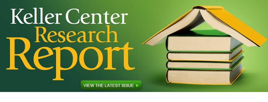 View Latest Issue of the Keller Center Research Report