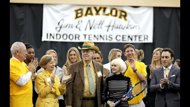 Hawkins Indoor Tennis Center Dedication