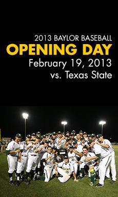 Baseball Opening Day