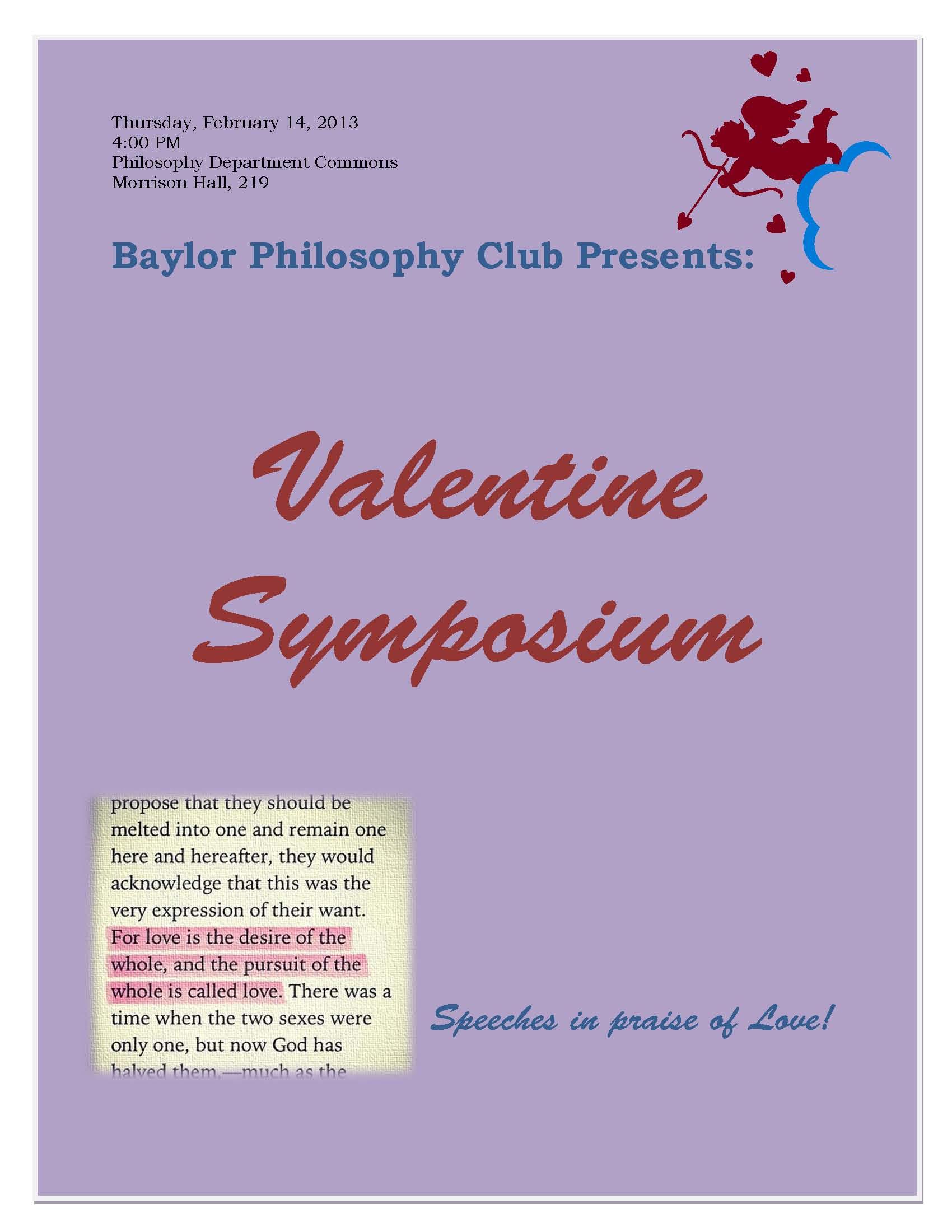 Valentine Syposium