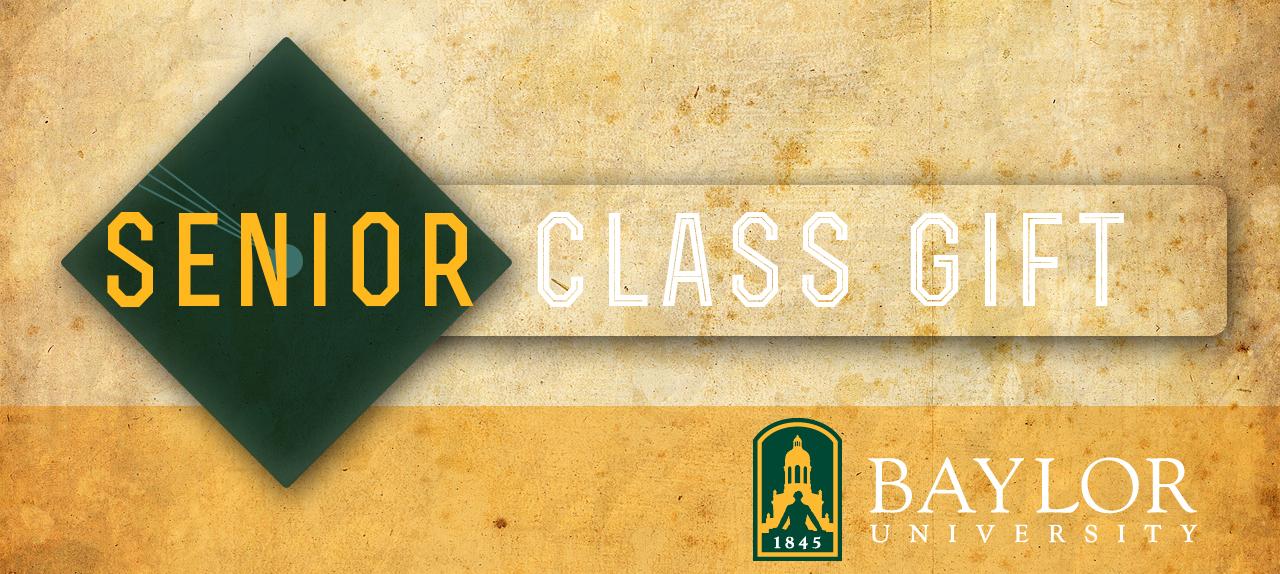 Senior Class gift banner