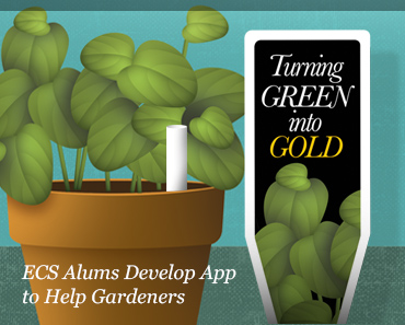 ECS Alums Build App to Help Gardeners