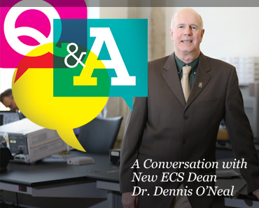 A Conversation with the new Dean