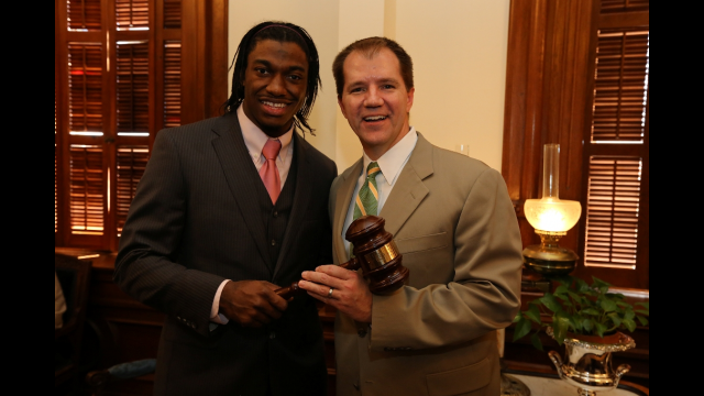 RGIII with Justice Willett