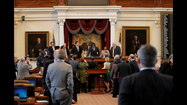 RGIII Honored by Texas House