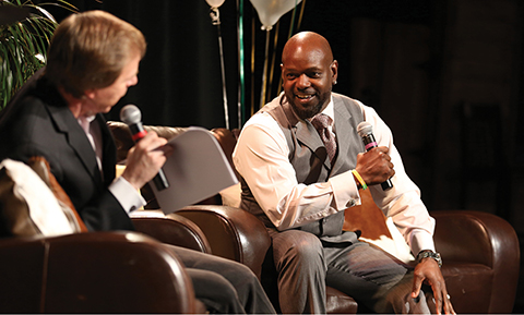 Photo of Emmett Smith at Going for the Gold Gala