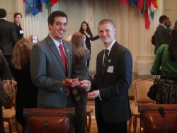 Passing the Gavel:Drew to Will