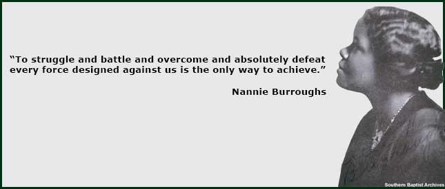 Nannie Burroughs