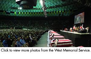 West Memorial Service