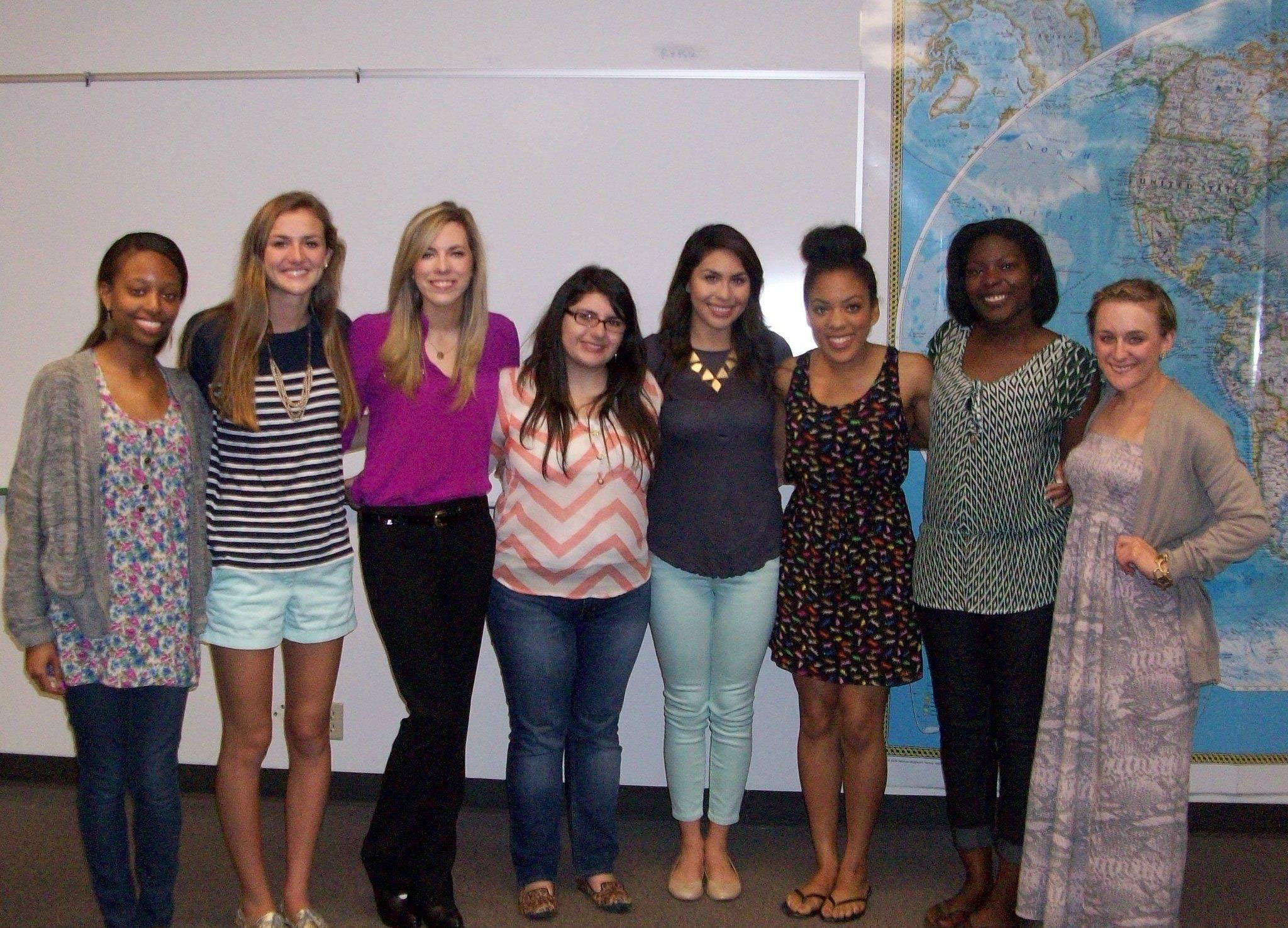 PRSSA Officers 2013-2014