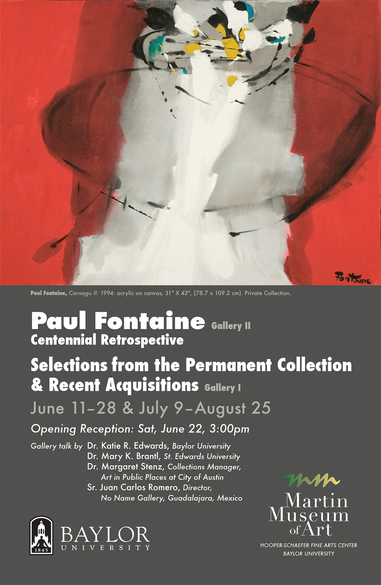 Paul Fontaine post card