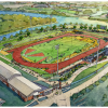 [Artist's Rendering - Baylor Track and Field Stadium]