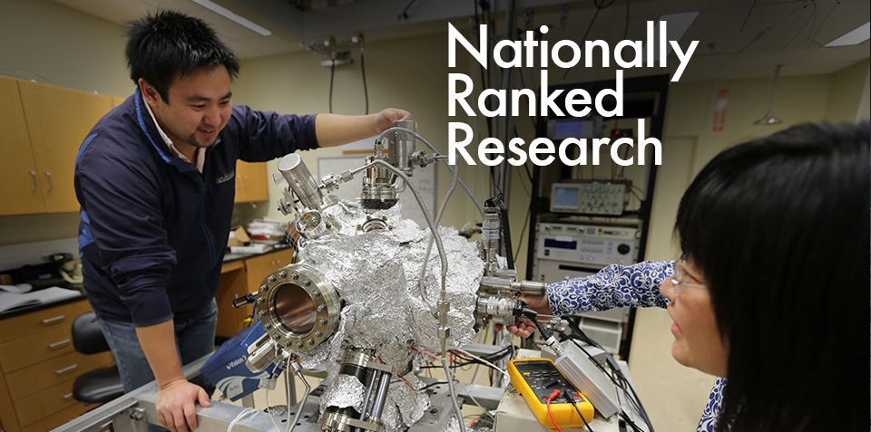 Nationally ranked research - student image