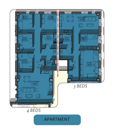 East Village Apartment Layout