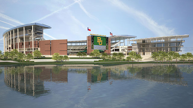 Baylor Stadium & Alumni Center