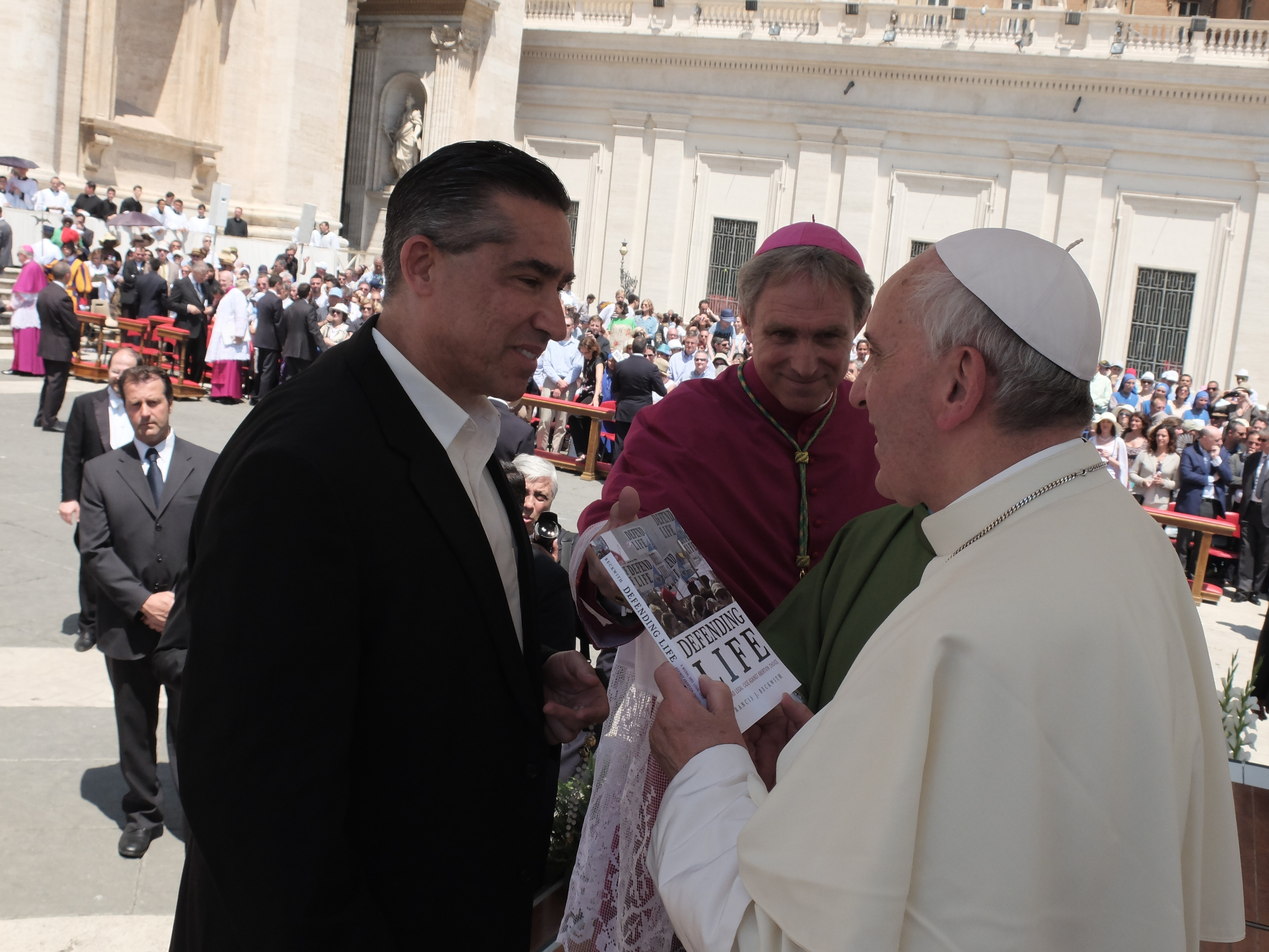 Dr. Beckwith and Pope Francis