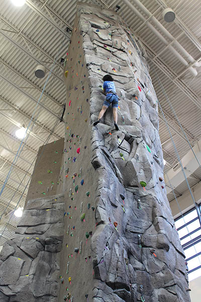 New Rock Wall