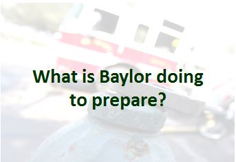 What is Baylor Doing to Prepare
