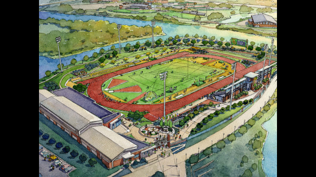 Full-Size Image: Track and Field Stadium Phase 2