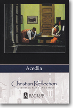 Christian Reflection: Acedia Cover