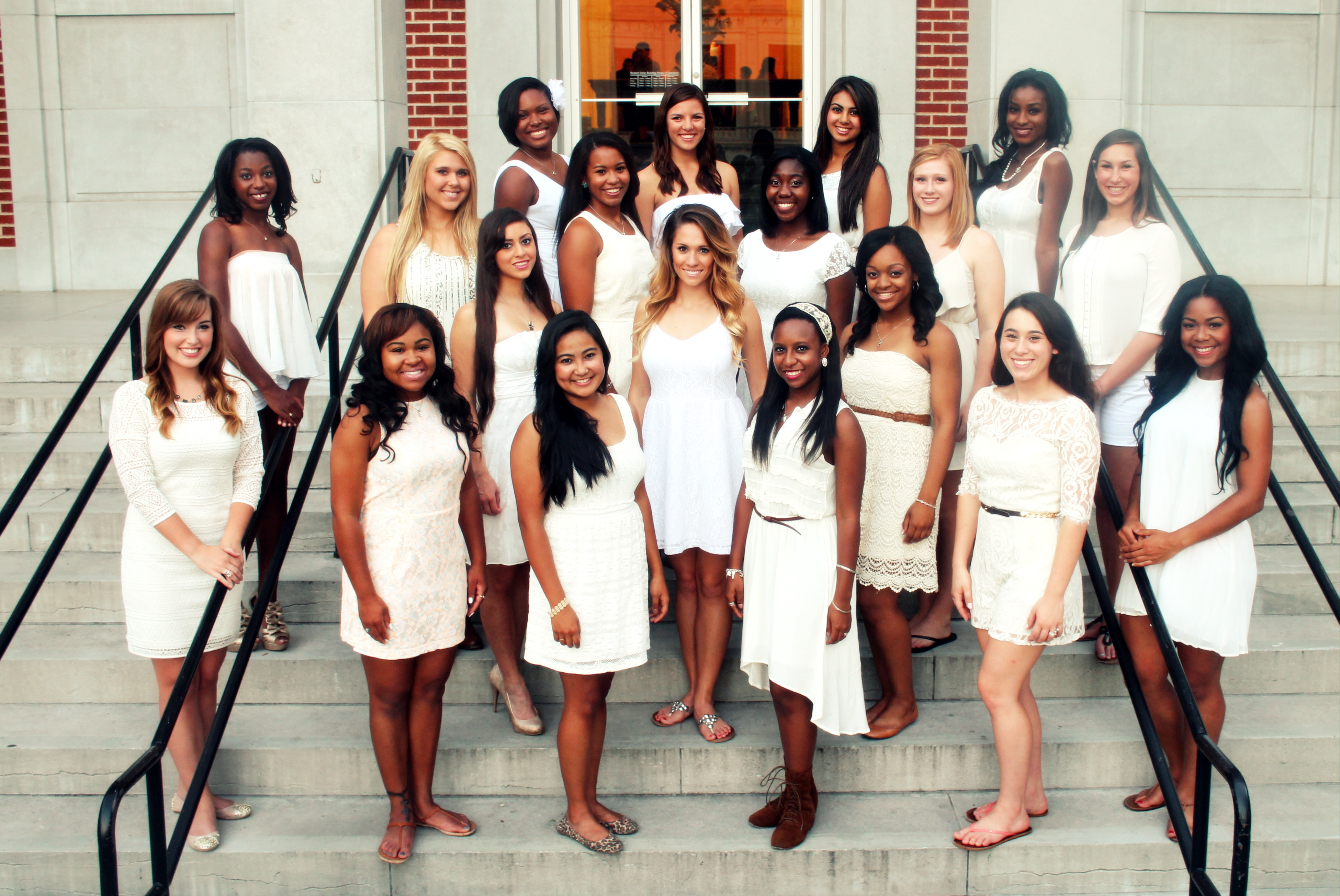 Miss Green and Gold Pageant Group