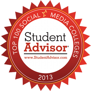 Student Advisor Top 100 Social Media Colleges