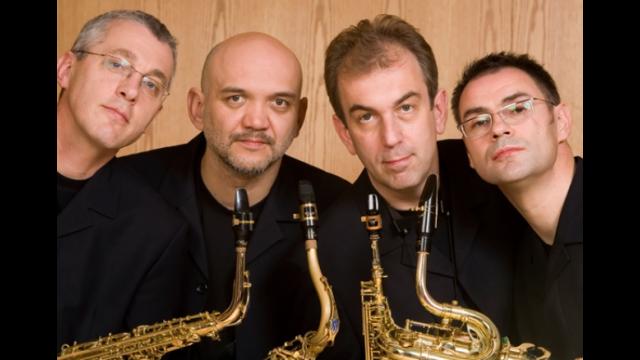 Zagreb saxophone quartet