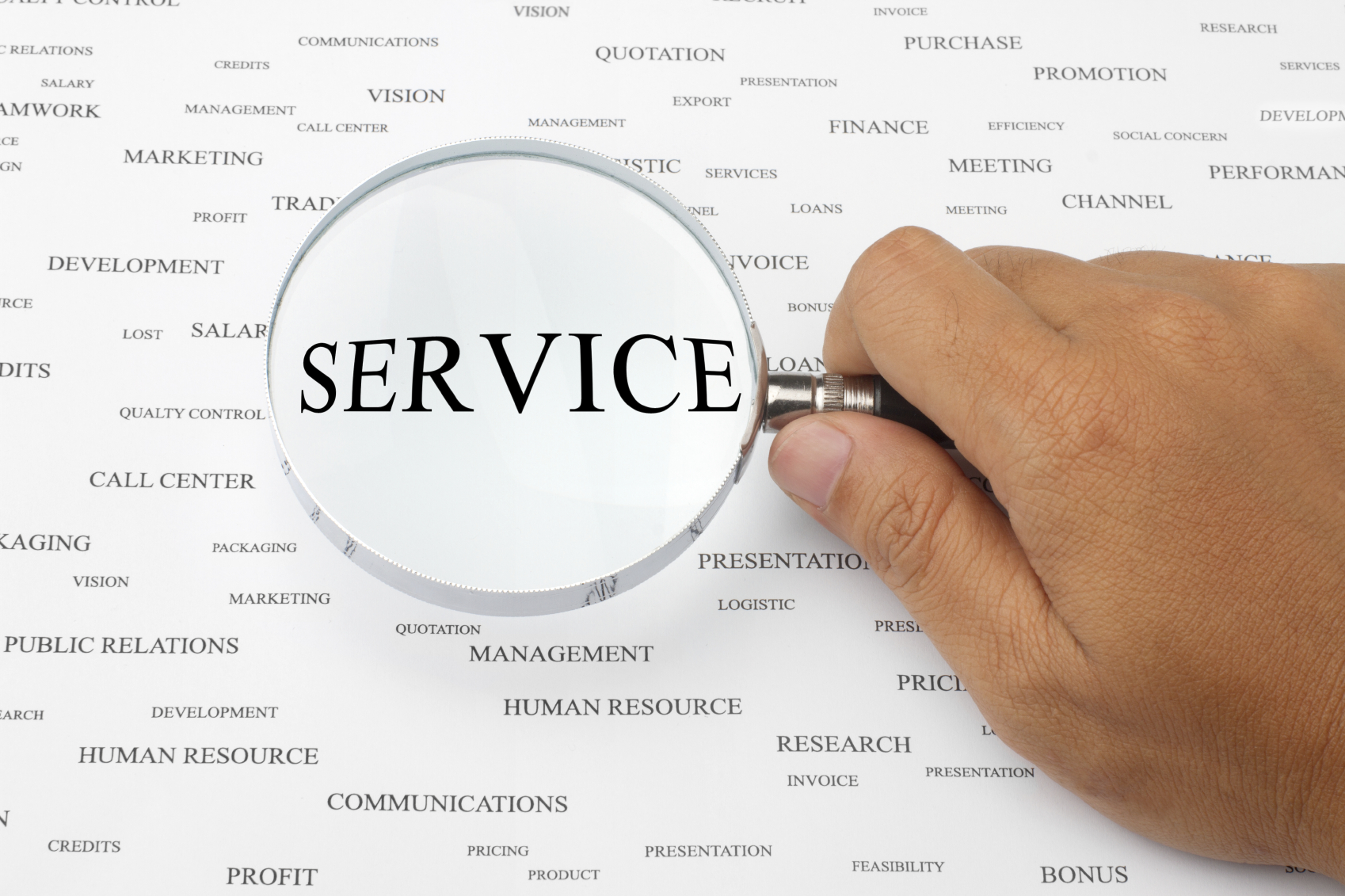 Stock photo representation of Service
