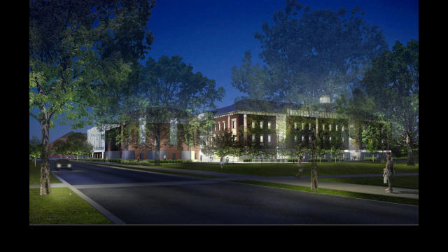 Full-Size Image: Foster Campus Architectural Rendering