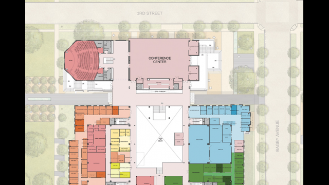 Baylor university media communications news for Meyer may house floor plan