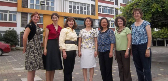 Agnes Tang and Teachers