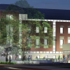 [Rendering of Carlile Plaza Entry]